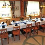 Gastraum im Gasthof Schneider