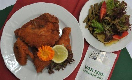 Essen im Erlebnisgasthof Schneider