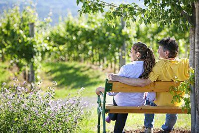 Die grüne Steiermark mitten in Weinbergen genießen(c)Weinland Steiermark Harald Eisenberger