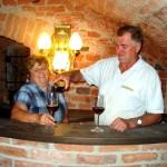 Weinkeller im Gasthof Schneider