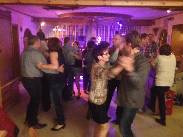 Tanz beim Fleischbettlerball