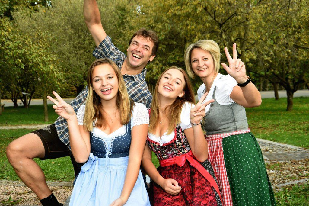 Familie Schneider vom Erlebnisgasthof